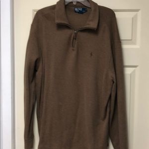 Men's Polo Sweatshirt by Ralph Lauren in Ex. Cond.